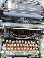 Régi  Underwood írógép