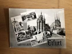 Erfurt képeslap