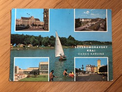 Karviná képeslap