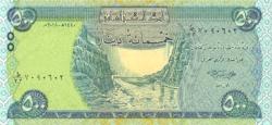 Irak 500 dinár 2018 UNC