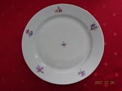 Alföldi porcelán, apró virágos lapostányér, átmérője 24 cm. Vanneki!