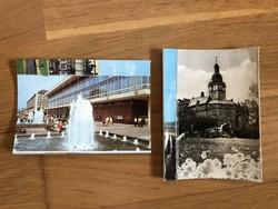Drezda és Harz városa képeslap, képeslap tömb