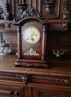 Antik viktoriánus kandalló óra