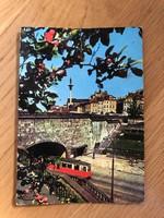 Varsó képeslap