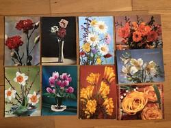 Virágos képeslapok   - ár / db        - 5. cs.