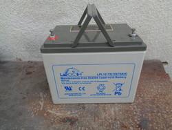 Akkumulátor 75 amperes - horgászok figyelem!