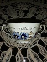 Zsolnay búzavirág mintás leveses csésze  11  36