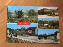 Orlová képeslap
