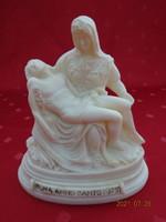 Olasz alabástrom szobor, ROMA ANNO SANTO 1975 felirattal. Vanneki!