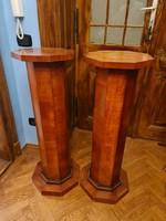 Pair of artdeco pedestals/posztamens