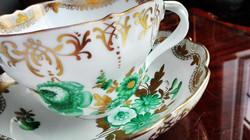 1/2 liter űrtartalmú, gigantikus méretű Ó Herendi porcelán teáscsésze