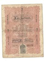 1848 as 2 forint Kossuth bankó papírpénz bankjegy 48 49 es szabadságharc pénze cg...