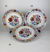 Kalocsai porcelán falitányér 3.