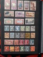 Francia használt bélyegek