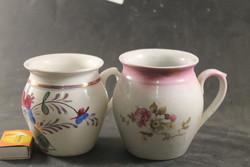 Antik porcelán hasas bögrék 984