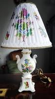 Igazi kisbarokk Herendi QueenVictoria lámpa új szerelékkel