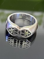 Különleges, tömör ezüst gyűrű