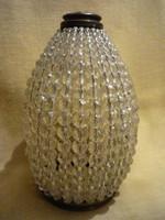 Lámpa  alsó bura kristály gyöngyökből  2107 13