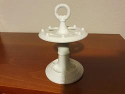 Antik porcelán tolltartó, pipatartó