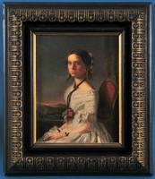 Egy fiatal hölgy portréja
