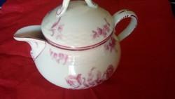 Régi német Meisseni virágmintás porcelán kávéskanna hibátlan állapotban