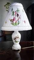 Közepes méretű Herendi Rothschild lámpa új szerelékkel