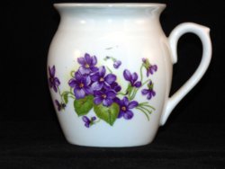 Zsolnay violet jar