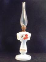 Antik szakított üveg petróleum lámpa