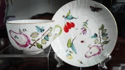 """Ó Herendi Fruit Chantilly mintás porcelán teáscsésze """"körte-egres"""""""