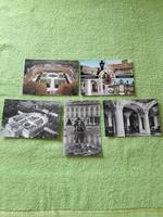 Magyar városok  16db postatiszta képeslap