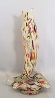 Retro Ritka Muranoi üveghal 28,5 cm
