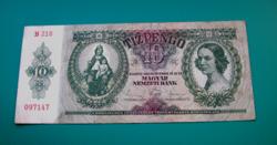 10 Pengő  bankjegy - 1936