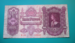 100 Pengő  bankjegy - 1930