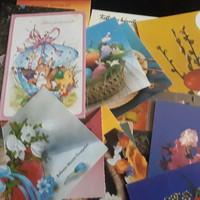32 db húsvéti képeslap