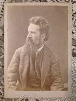 Cabinet portrait, Hans Makart J. Löwy K. K. Hofphotograph műterméből eladó.