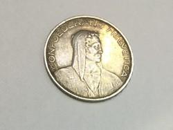 Eladó 1924 CONFOEDERATIO HELVETIA 5 Fr. Ezüst pénz. Nagyon ritka!