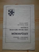 Eladó, műsorfüzet: MOTOCROSS - PANNONVIN KUPA 1985. július 14.-én.