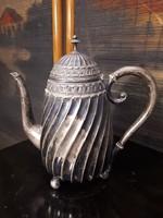 Antik ezüst teás kanna, 1980as évek