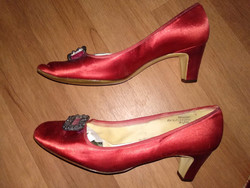 1950 stílusú antik női cipő antique woman shoe