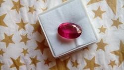 8.00 karátos mozambiki pink turmalin drágakő tanúsítvánnyal