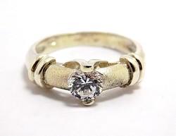 Köves ezüst gyűrű (ZAL-Ag96702)