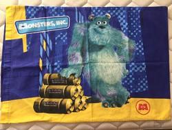 Nagy leárazás nálam! Eredeti jelzett Disney- Pixar termék, Monster Inc. film - párnahuzat, díszpárna
