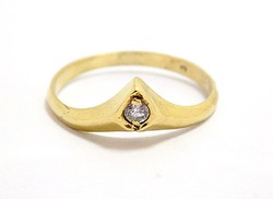 Köves arany gyűrű (ZAL-Au92847)