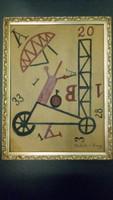 Signos Abstrack Festmény!