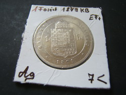 1 Forint 1879 KB