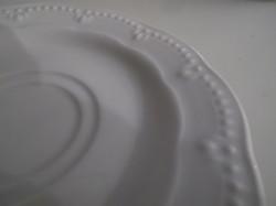 Porcelán - JANLINA - TÁNYÉR - 15 cm - HÓFEHÉR - HIBÁTLAN