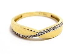 Köves arany gyűrű (ZAL-Au97474)