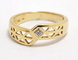 Köves arany gyűrű (ZAL-Au98003)