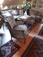 Chippendel bar 4-piece sofa