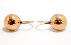 Arany lencse fülbevaló (ZAL-Au98120)